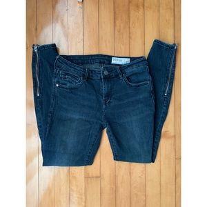 Pistola Zipper Skinny Jeans